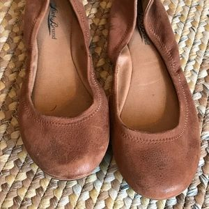 Shoes - Lucky Brand brown flats